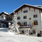 Schlosshotel Chastè Tarasp im Winter